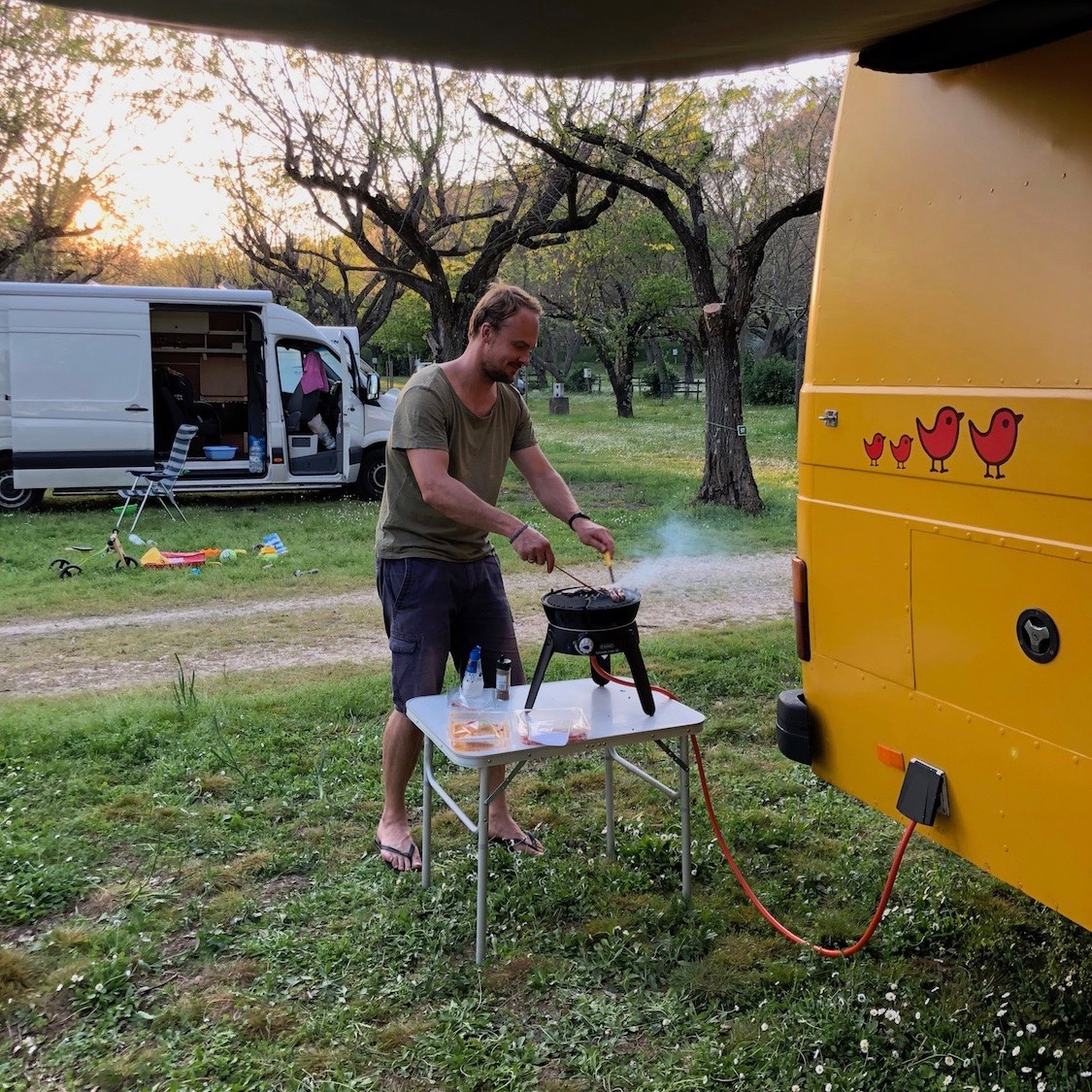 Expedition Family Happiness - Camping in the Adreche (Le Pontet is a GREAT CAMPSITE!!)