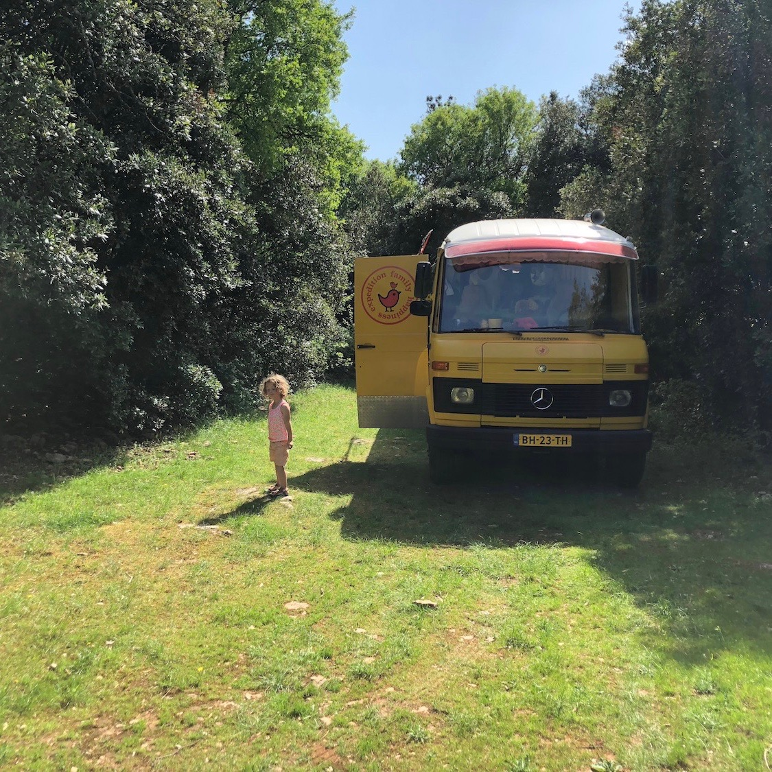 Expedition Family Happiness - Wild camping in the Ardeche