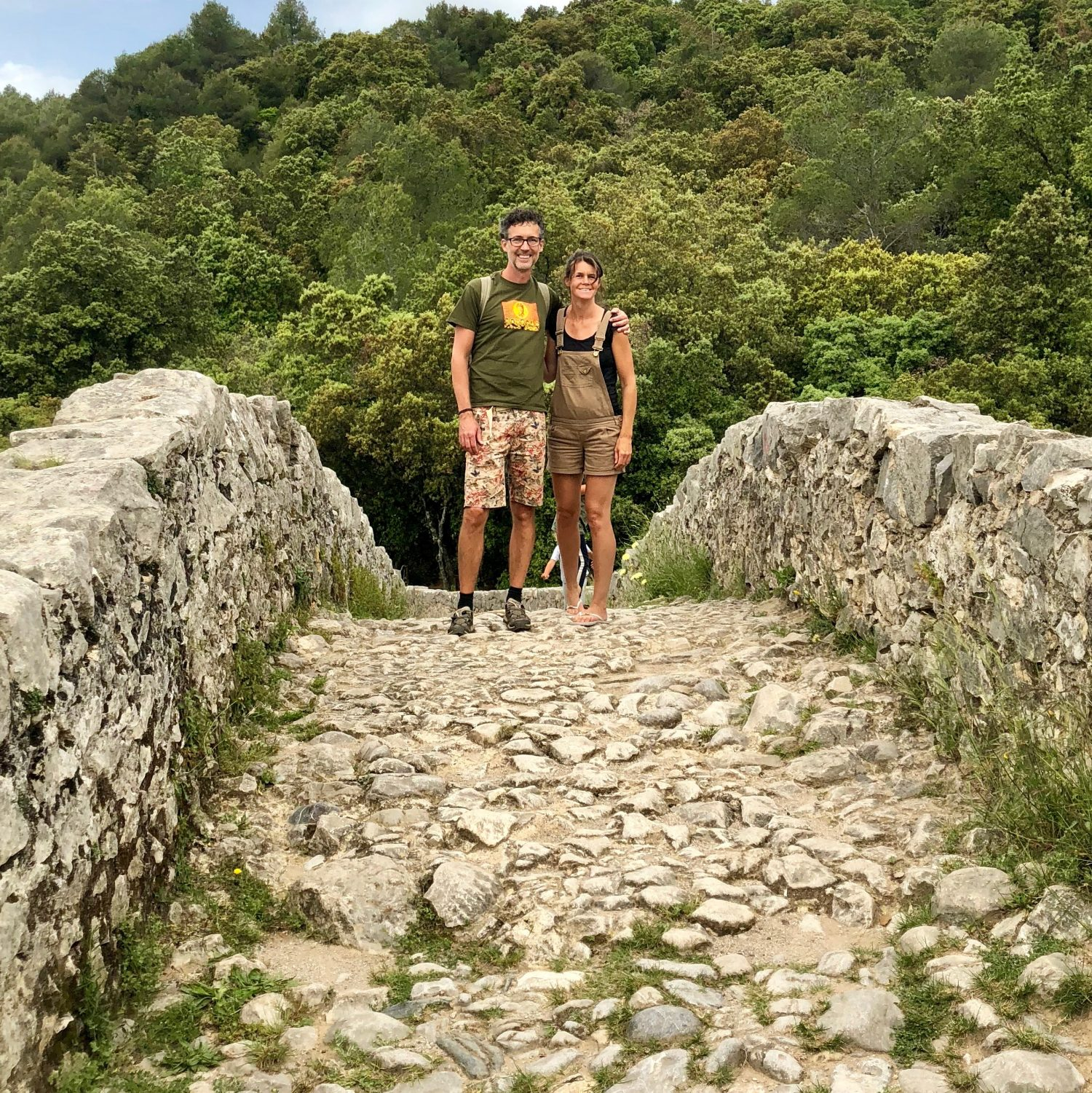 Expedition Family Happiness - Bridge from the 14th century