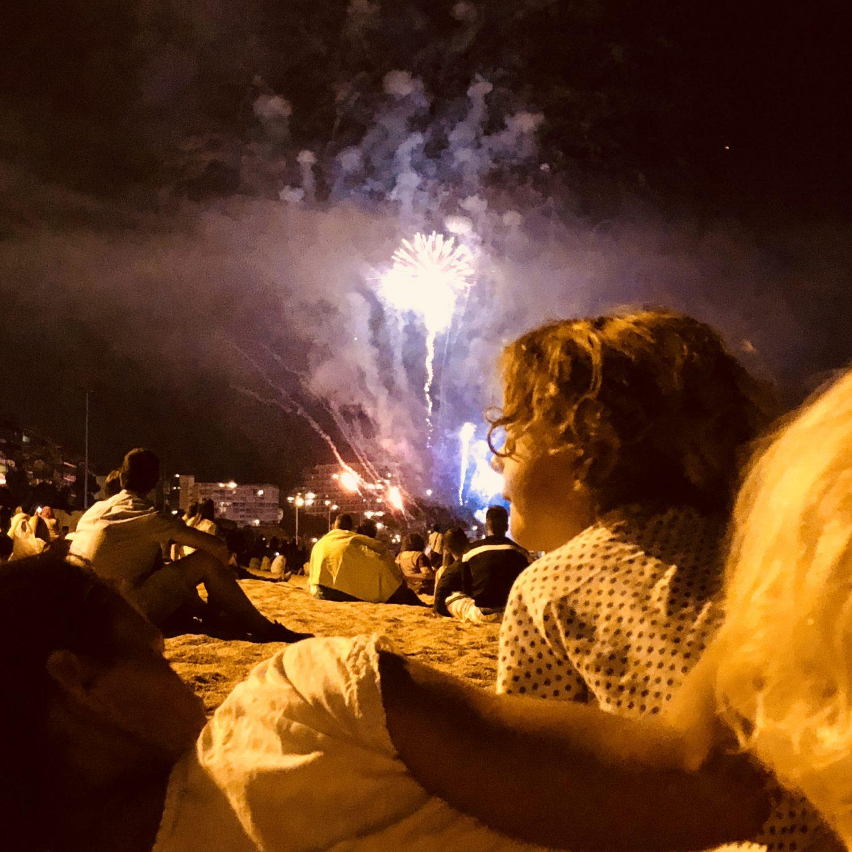 Expedition Family Happiness - San Juan, fireworks at Platja D'Aro