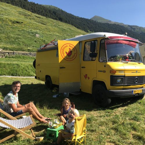 Expedition Family Happiness - Goodmorning from our Camping in Andorra!